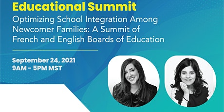 Educational Summit: Optimizing School Integration Among Newcomer Families tickets