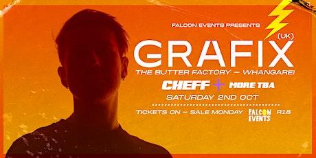Grafix (UK) | Whangarei | 2nd Oct tickets