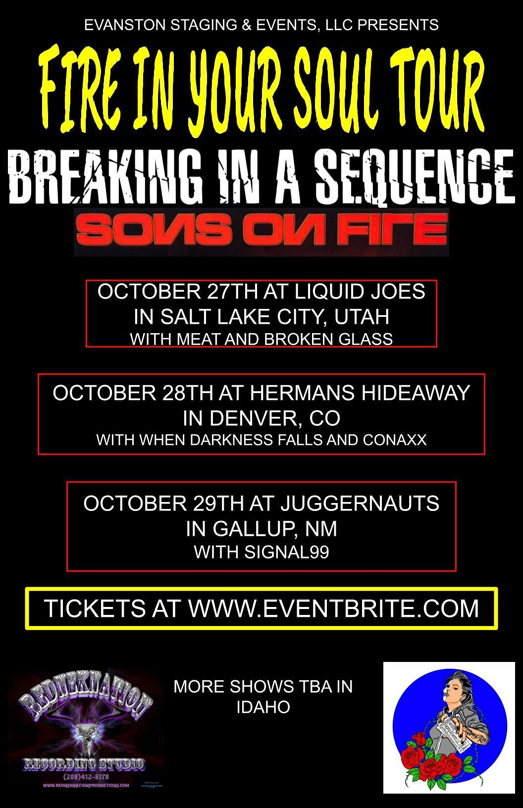 BREAKING IN A SEQUENCE | SONS ON FIRE | WHEN DARKNESS FALLS | CONAXX