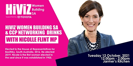 The HiViZ Women Building SA and CCP Networking Drinks event tickets