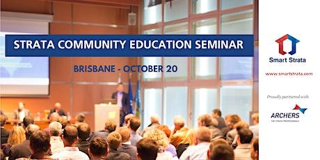 Strata Community Education Seminar - Brisbane tickets