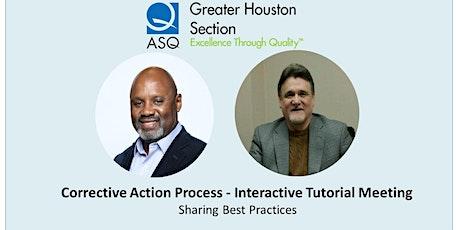 Corrective Action Process - Interactive Tutorial tickets
