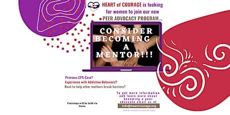 Heart of Courage Peer Mentoring Informational Meeting tickets