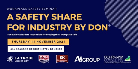 A Safety Share for Industry by DON® tickets
