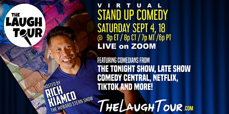 The Laugh Tour: VIRTUAL Stand Up Comedy via ZOOM tickets