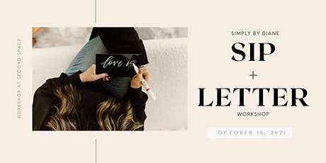 Sip and Letter with Simply by Diane tickets