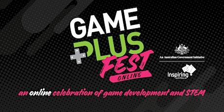 Game Plus Fest Online 2021 billets