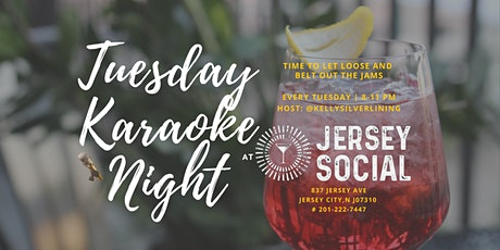 Tuesday Karaoke Night at Jersey Social in Jersey City tickets