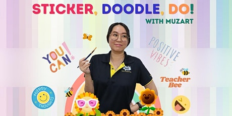 JHC Arts&Health Festival  - Sticker, Doodle, Do! with MuzArt Art Workshop tickets