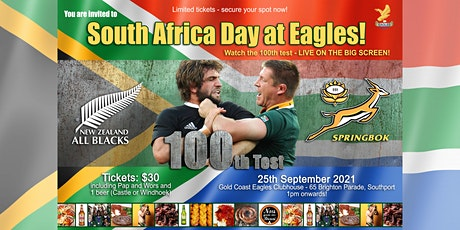SOUTH AFRICA DAY AT EAGLES! tickets