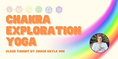 Chakra Exploration Yoga tickets