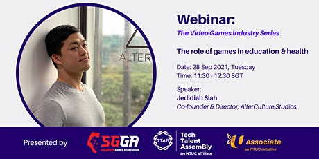 [Registration] The role of games in education & health tickets