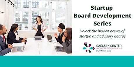 Startup Board Development Series tickets
