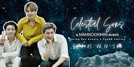 Celestial Sons NamKookMin Cafe tickets