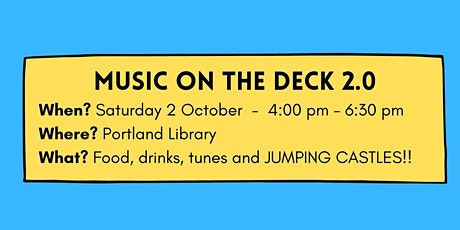 Music on the Deck 2.0 tickets