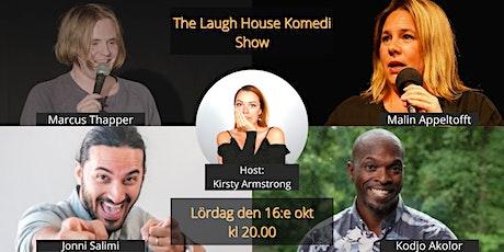 The Laugh House Ståupp Komedi 16:e oktober tickets