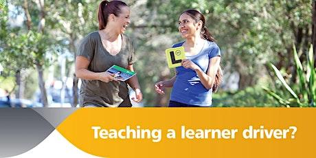 Teaching Learner Drivers Online Workshop Oct2021 tickets