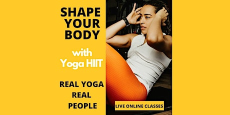 Yoga HIIT Yoga Online Class  With Sienna  Best Workout Strength  & Stretch tickets