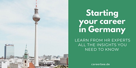 Starting your career in Germany Tickets