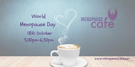 Menopause Café Perth (online) on World Menopause Day tickets