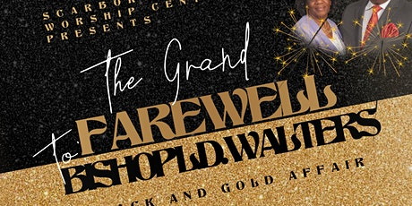 The Grand Black and Gold Tie Affair for Bishop L.D. Walters tickets