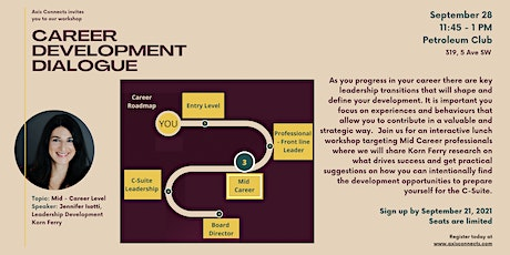 Axis Connects Career Development Dialogue Workshop tickets
