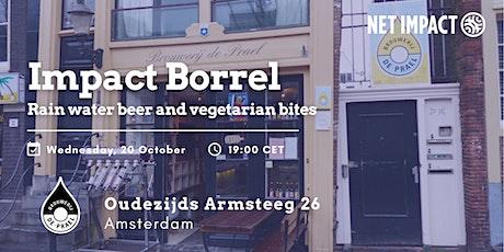 Impact Borrel: Rain Water Beer & Vegetarian Bites at De Prael tickets