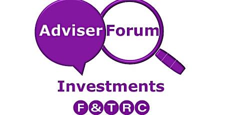 September Investment Forum tickets