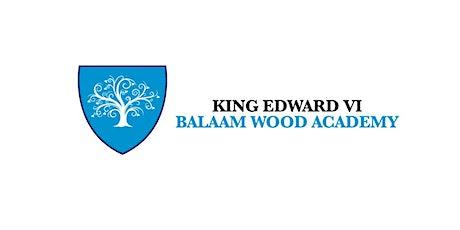 King Edward VI Balaam Wood Academy Meet & Greet the Headteacher tickets