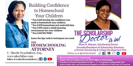 The Homeschooling Attorney & Scholarship Doctor's 1-Day Education Summit tickets