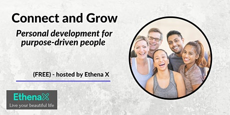 Connect and Grow – Personal development for purpose-driven people tickets