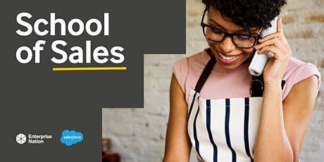School of Sales: Grow your sales at Christmas tickets