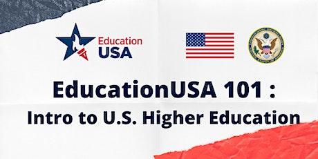EdUSA 101: Intro to U.S. Higher Education tickets