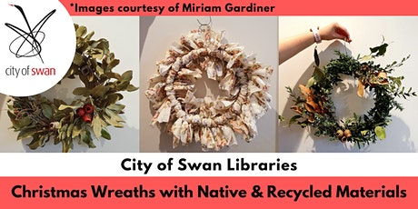 Nature Know-How: Making Native and Recycled Christmas Wreaths (Midland) tickets