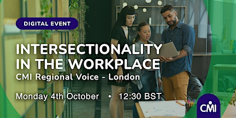 Intersectionality in the Workplace tickets