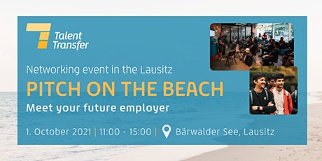 #pitchonthebeach - meet your future employer I TalentTransfer Tickets