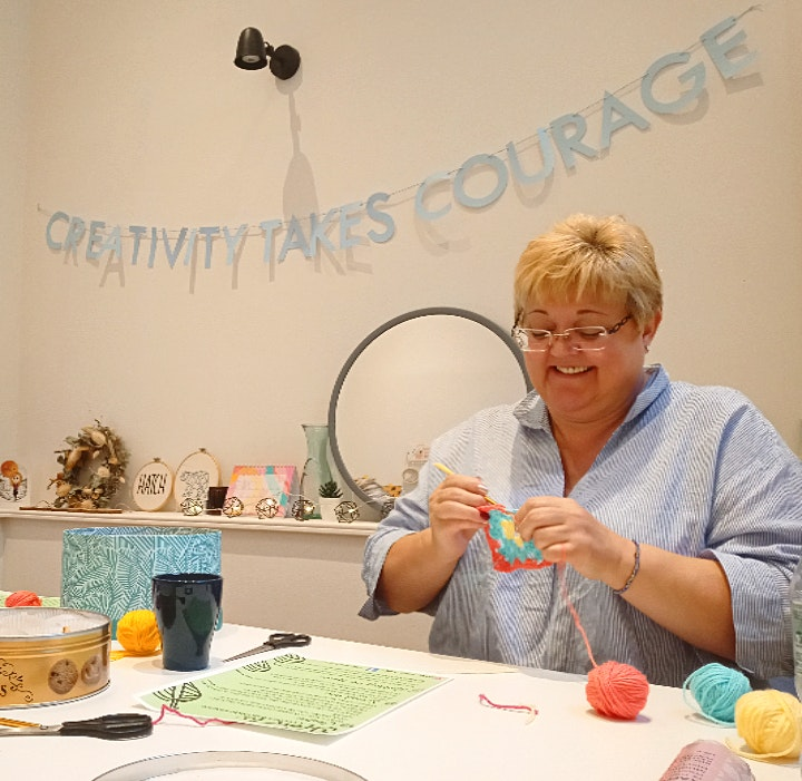 Mindful Crochet - 5 Week Course image
