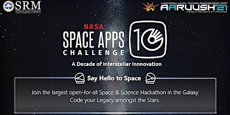 NASA SPACE APPS CHALLENGE tickets