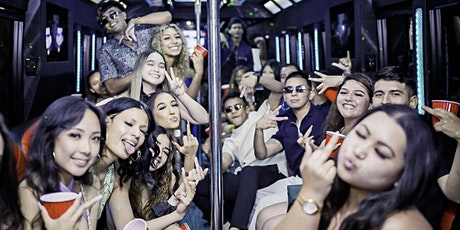 BOOZE CRUISE/ 1 HR PARTY BUS/ FREE ALCOHOL/ FREE ENTRY FOR NIGHTCLUBS tickets