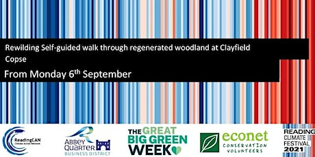 Rewilding Self-guided walk through regenerated woodland at Clayfield Copse tickets
