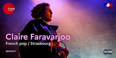 Concert / CLAIRE FARAVARJOO billets