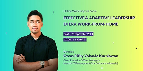 Effective & Adaptive Leadership di Era Work-from-Home tickets