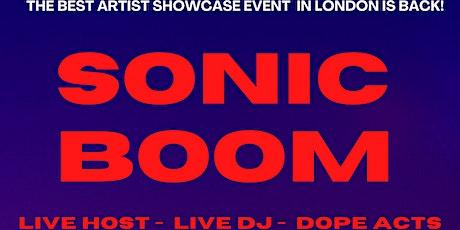 SONICBOOM- OPEN MIC/ARTIST SHOWCASE tickets