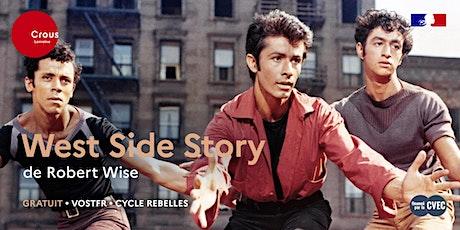 Cinéma / WEST SIDE STORY de Robert Wise - Cycle Rebelles billets