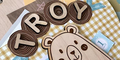 Personalized Door Sign Workshop in Singapore tickets