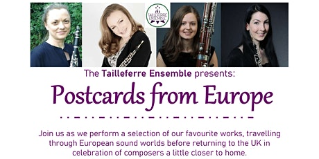 Tailleferre Ensemble  - Postcards from Europe tickets
