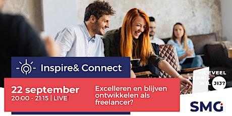 Inspire & Connect LIVE | 1 september | Excelleren als freelancer tickets