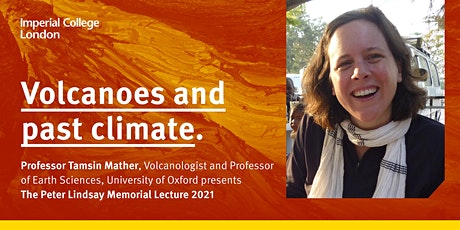 The Peter Lindsay Memorial Lecture 2021: Volcanoes and past climate tickets