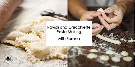 Ravioli and Orecchiette Cooking Class tickets