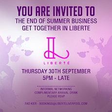 End of Summer Business get together tickets